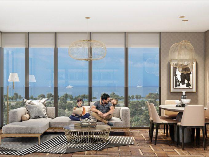 پروژه HASBAHCE خریدو فروش ملک و خانه در استانبول