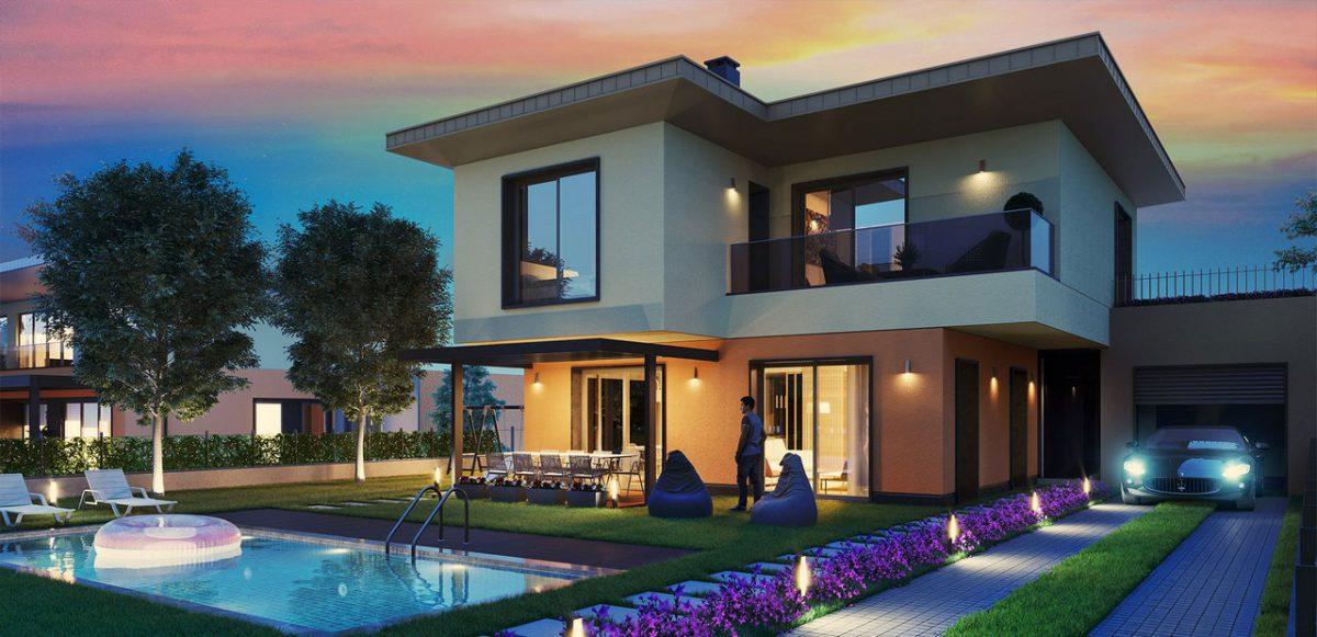 خرید خانه ویلایی پروژه YESILYAKASU ISTANBUL